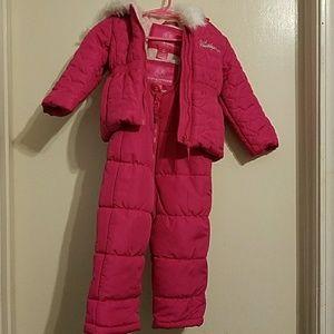 18 month Girls Snow Suit